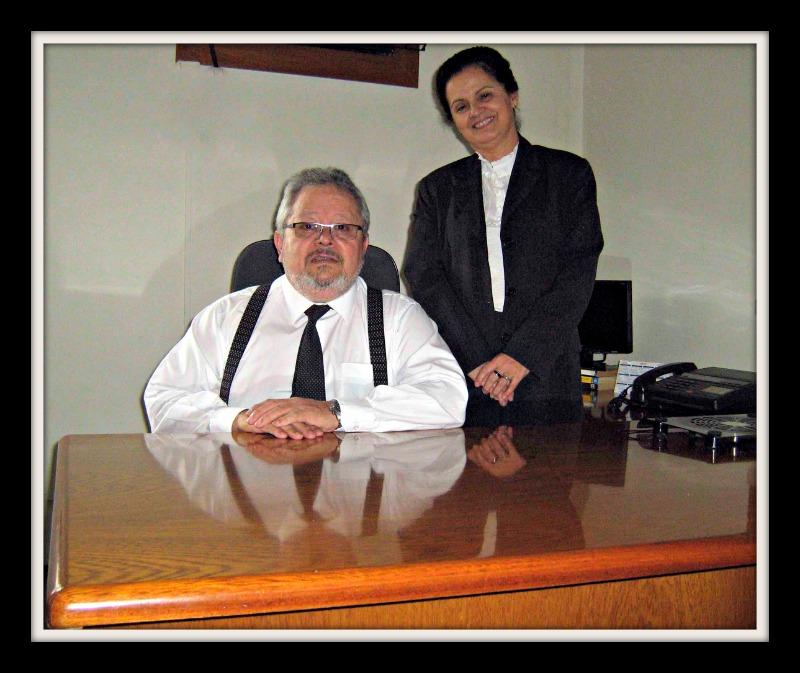Dr. Paulo Roberto da Cunha e Dr. Marise Rosenhaim